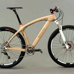 Bicicletă din lemn Renovo