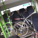 Cu bicicleta în autobus