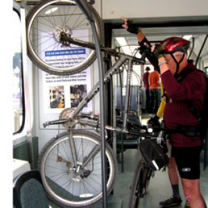 Cu bicicleta în metrou