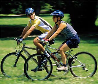 Bicicleta ca metodă pentru slabire
