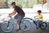 Bicicleta-remorcă