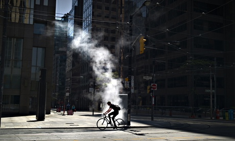 Deplasarea cu bicicleta în orașul Toronto
