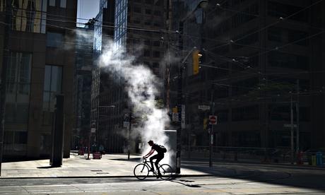 Deplasarea cu bicicleta in orașul Toronto