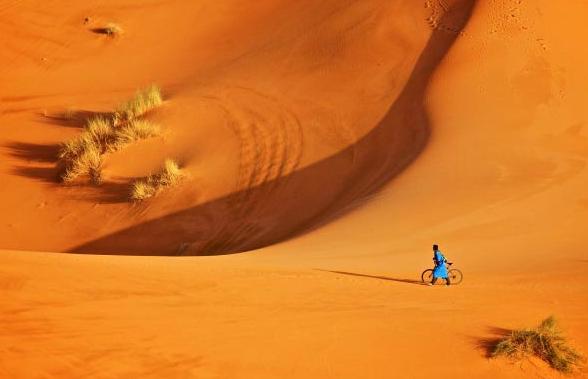 Ciclism prin nisip