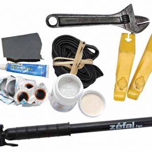 Kit pentru reparația penei la bicicletă