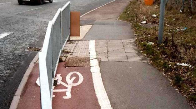 Pista pentru rea bicicletă