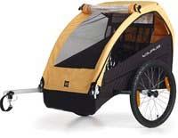 Remorcă de bicicletă pentru transportarea copiilor