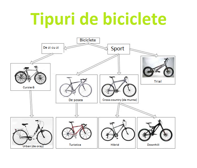 Tipuri de biciclete