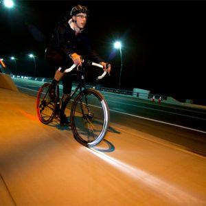 Lumina pe bicicleta